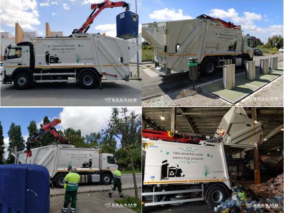 Gesamb adquire nova viatura para recolher resíduos recicláveis