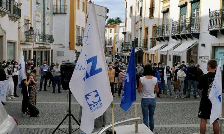 Solidariedade com Palestina junta uma centena em Évora