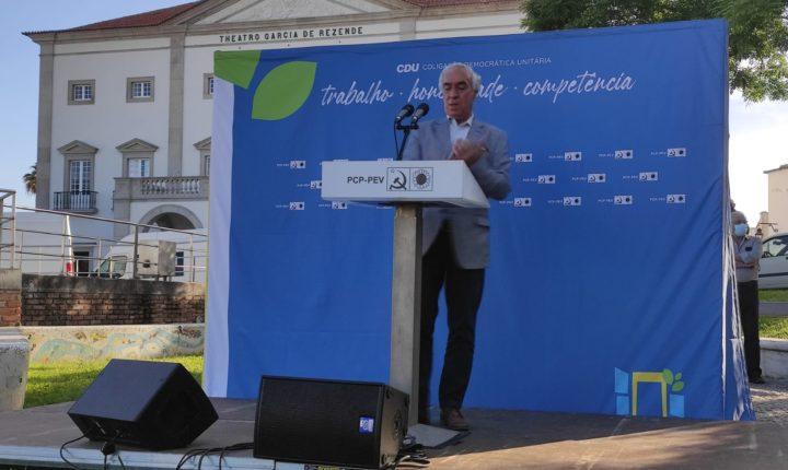 Pinto de Sá diz que gestão CDU cumpriu e promete tom reivindicativo