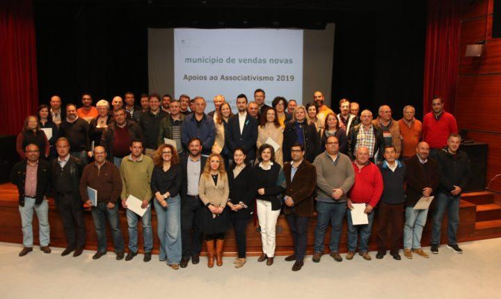 Vendas Novas disponibiliza cerca de184 mil euros para ajudar 36 associações