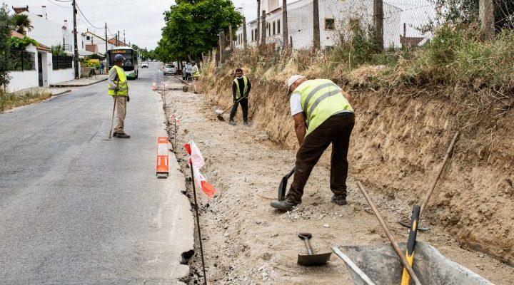 Ligação pedonal que liga a Estrada da Chaínha ao Centro Histórico vai ficar completa