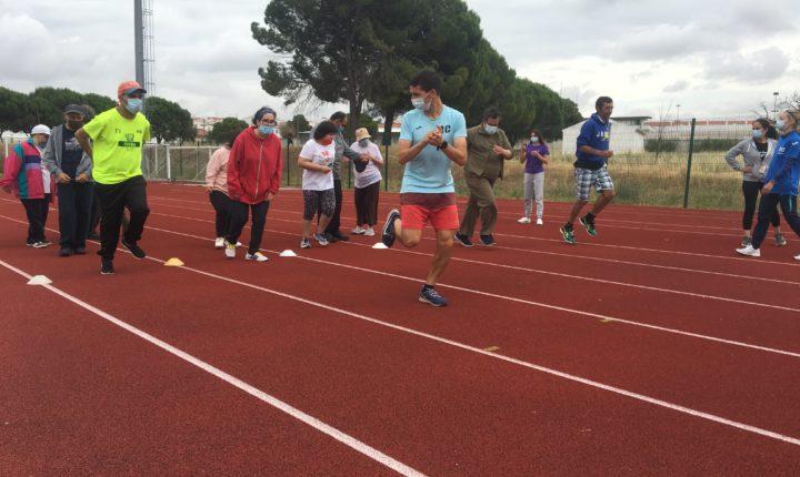 Utentes da Cercidiana experimentam o atletismo