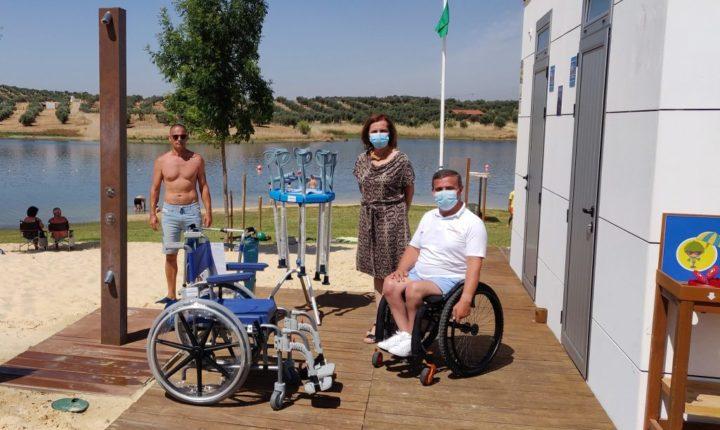Portel apoia praias fluviais com equipamentos de apoio à mobilidade reduzida