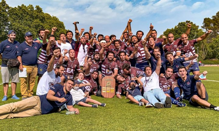 Clube de Rugby de Évora conquista Campeonato da 1.ª Divisão