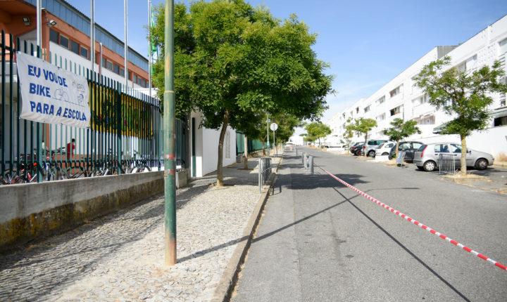 Reforçada segurança rodoviária junto à Escola André de Resende