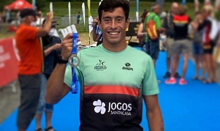 Triatleta José Cabeça é vice-campeão da Europa