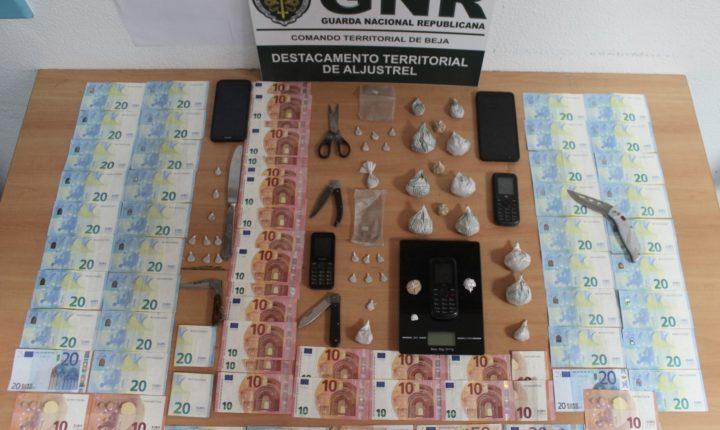 Prisão preventiva por tráfico de droga nos concelhos de Aljustrel e Ourique
