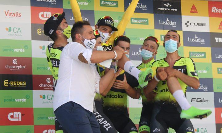 Uruguaio Mauricio Moreira conquista Volta ao Alentejo em Bicicleta