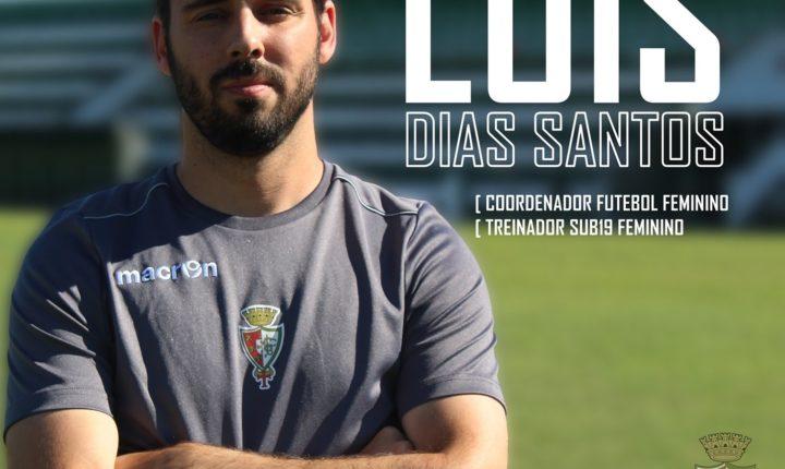 Luís Santos coordenador do futebol feminino do Lusitano Ginásio Clube