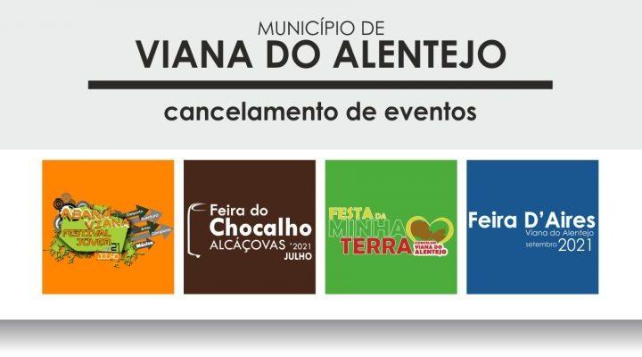 Viana do Alentejo cancela eventos devido à Covid-19