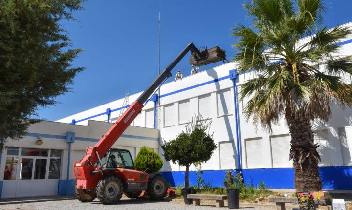 Amianto removido do edifício da escola básica e secundária de Mora