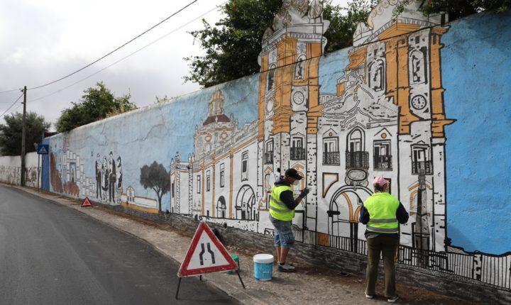 Viana do Alentejo recupera Mural D'Aires