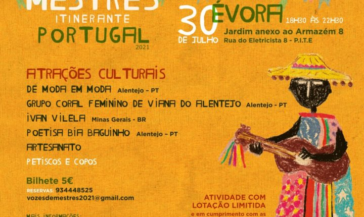 Do Cante ao Forró, a cultura do Alentejo e do Brasil juntam-se em festa