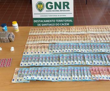 GNR detém homem por tráfico de droga em Vila Nova de Santo André