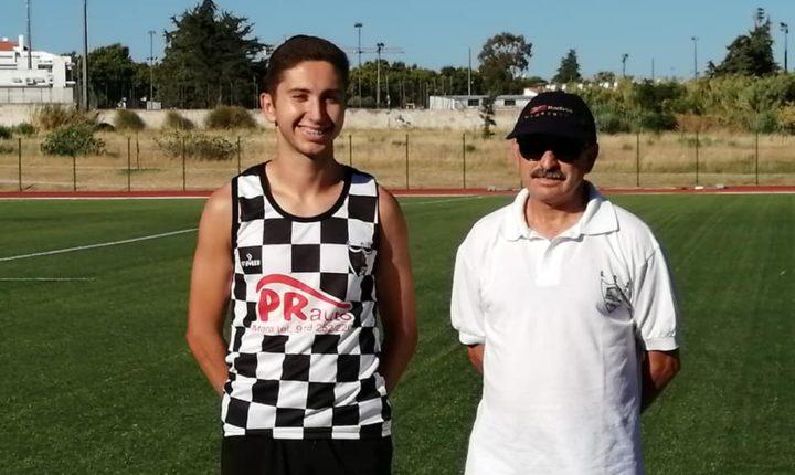 Expectativas altas em torno do atleta Francisco Laranjeira