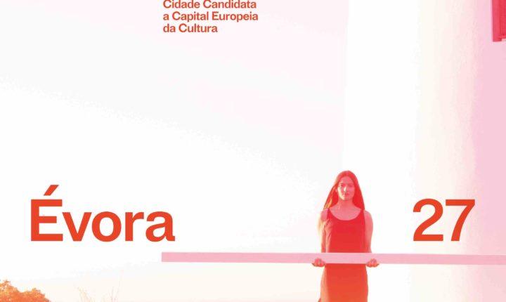Identidades gráfica e musical compõem o novo passo da candidatura de Évora 2027