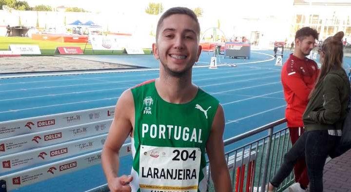 Elvense Francisco Laranjeira alcançou recorde pessoal na Polónia