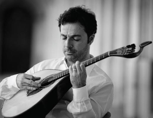 Hoje há concerto de guitarra portuguesa com harpa e contrabaixo em Évora