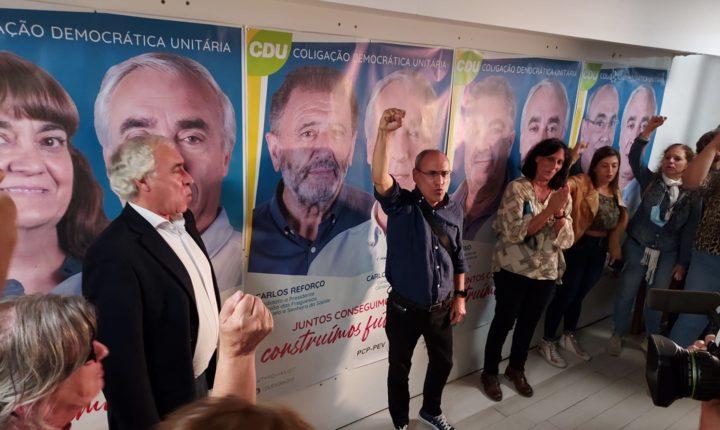 CDU reconquista câmara de Évora
