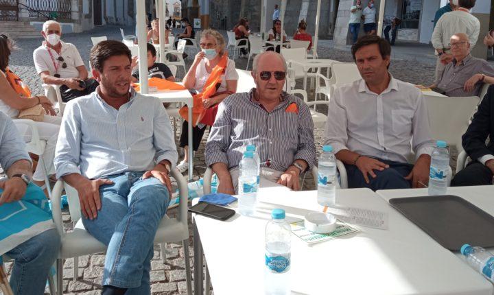 Lideres de PSD e CDS defendem investimento para travar despovoamento em Évora
