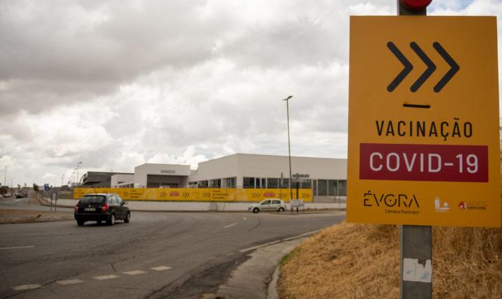 Centro de vacinação de Évora deve fechar no final do mês