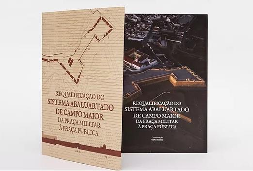 Reabilitação do sistema abaluartado de Campo Maior em livro