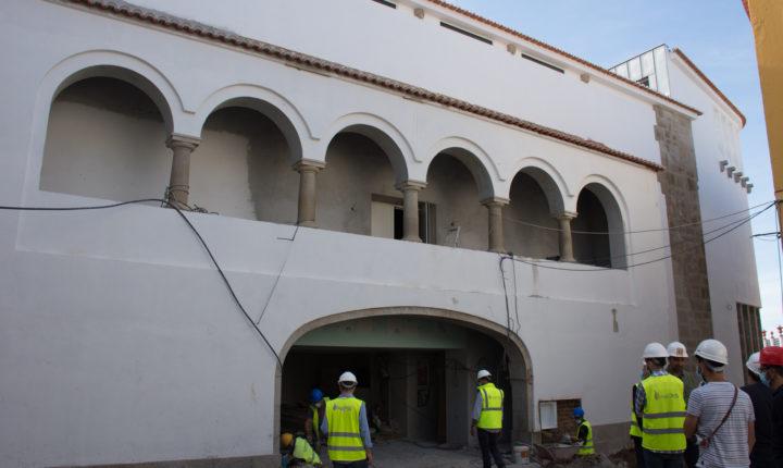 Antigo Salão Central Eborense reconstruído