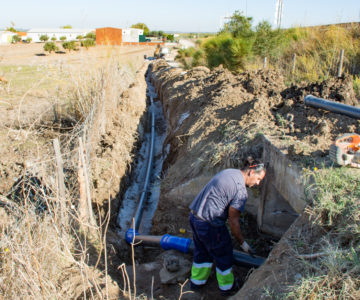Câmara substitui conduta de água em São Manços