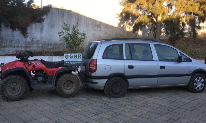 GNR de Beja recupera viaturas furtas em oficina